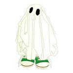 Paper Wizard - Halloween - Die Cuts - Trick or Treat Kids - Ghost