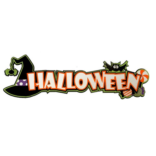 Paper Wizard - Halloween - Die Cuts - Halloween Fun Title