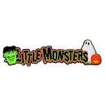 Paper Wizard - Holidays Collection - Halloween - Die Cuts - Little Monsters Title