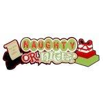 Paper Wizard - Christmas - Die Cuts - Naughty or Nice