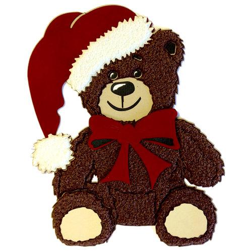 Paper Wizard - Christmas - Santa Bear