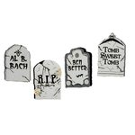Paper Wizard - Theme Park Fun Collection - Halloween - Die Cuts - Tombstones