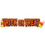 Paper Wizard - Holidays Collection - Halloween - Die Cuts - Trick or Treat Title