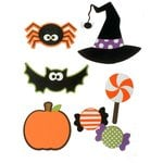 Paper Wizard - Halloween - Die Cuts - Trick or Treat Minis