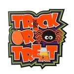 Paper Wizard - Halloween - Die Cuts - Sweet Trick or Treat Title