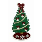 Paper Wizard - Happy Holidays Collection - Die Cuts - Christmas Tree