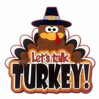 Paper Wizard - Die Cuts - Let's Talk Turkey Title