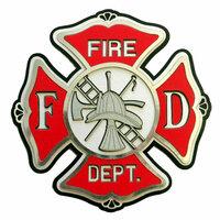 Paper Wizard - Die Cuts - Firefighter's Cross