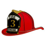 Paper Wizard - Die Cuts - Firefighter's Helmet