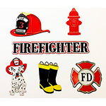Paper Wizard - Civil Service Collection - Firefighter Minis