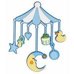 Paper Wizard - Die Cuts - Baby Mobile - Blue