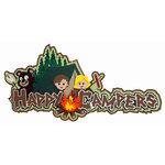 Paper Wizard - Die Cuts - Happy Campers