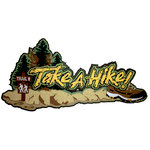 Paper Wizard - Camping and Outdoors Collection - Take a Hike Title
