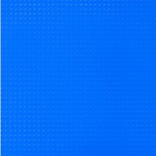 Paper Wizard - Block Party Collection - Lego - 12x12 Embossed Paper - Solid Blue