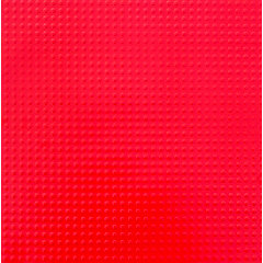 Paper Wizard - Block Party Collection - Lego - 12x12 Embossed Paper - Solid Red