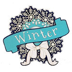 Paper Wizard - Die Cuts - Seasonal Wreath - Winter