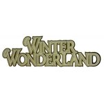 Paper Wizard - Happy Holidays Collection - Christmas - Die Cuts - Winter Wonderland