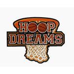 Paper Wizard - School Days Collection - Die Cuts - Hoop Dreams