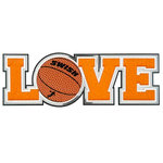 Paper Wizard - Big League Sports Collection - Die Cuts - Love - Basketball
