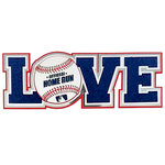 Paper Wizard - Big League Sports Collection - Die Cuts - Love - Baseball