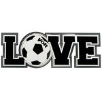 Paper Wizard - Big League Sports Collection - Die Cuts - Love - Soccer