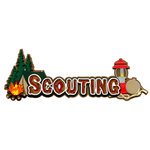 Paper Wizard - Die Cuts - Scouting Title