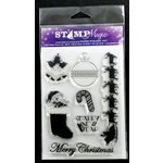 Paper Wizard - Stamp Magic Collection - Clear Acrylic Stamps - Christmas 1