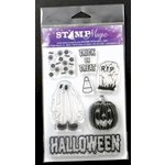 Paper Wizard - Stamp Magic Collection - Clear Acrylic Stamps - Halloween 1