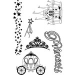 Paper Wizard - Stamp Magic Collection - Clear Acrylic Stamps - Princess