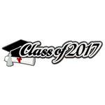 Paper Wizard - Die Cuts - Class of 2017 - Script