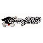 Paper Wizard - Die Cuts - Class of 2019 - Script