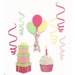 Paper Wizard - Die Cuts - Birthday Banner Minis - Pink