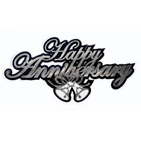 Paper Wizard - Die Cuts - Happy Anniversary