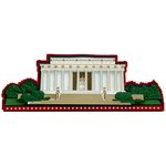 Paper Wizard - My Country 'Tis of Thee Collection - Die Cuts - Lincoln Memorial