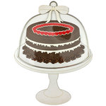 Paper Wizard - Sweet Shoppe Collection - Die Cuts - Chocolate Cake