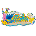 Paper Wizard - Hawaii Collection - Die Cuts - Aloha 3