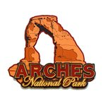 Paper Wizard - National Parks Collection - Die Cuts - Arches National Park Sign
