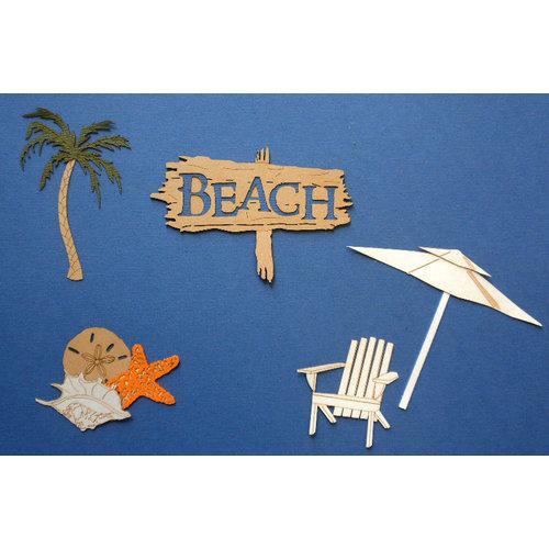 Paper Wizard - Die Cuts - Beach Minis