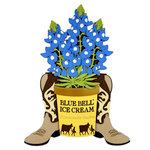 Paper Wizard - Texas Collection - Die Cuts - Bluebell Bucket
