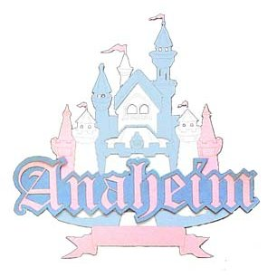 Paper Wizard - Disney - Die Cuts - Anaheim Castle