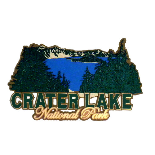 Paper Wizard - National Parks Collection - Die Cuts - Crater Lake