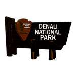 Paper Wizard - National Parks Collection - Die Cuts - Denali Sign