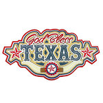 Paper Wizard - Texas Collection - Die Cuts - God Bless Texas Title