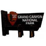 Paper Wizard - National Parks Collection - Die Cuts - Grand Canyon Sign