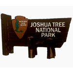 Paper Wizard - National Parks Collection - Die Cuts - Joshua Tree National Park Sign