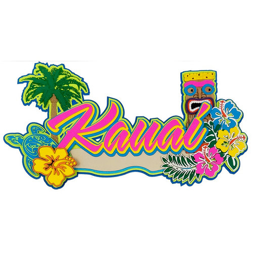 Paper Wizard - Hawaii Collection - Die Cuts - Kauai 3