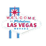 Paper Wizard - Die Cuts - Las Vegas Sign 2006