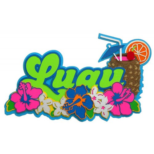 Paper Wizard - Hawaii Collection - Die Cuts - Luau