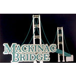 Paper Wizard - Travel Log Collection - Die Cuts - Mackinac Bridge