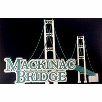 Paper Wizard - Travel Log Collection - Die Cuts - Mackinac Bridge